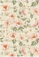 Reispapier-Motiv Strohseide-Decoupage-Vintage-Vogel-Meise-Blaumeise-19028