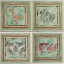 5 Pc Waterslide Prints Ceramic Tile Glass Mirror Wall Decal Art Design Transfers