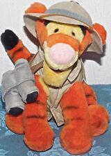 "Disney World Plush Safari Tigger 8"" NEW Tags NWT STUFFED ANIMAL TOY POOH LOVEY"