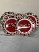 Coca cola  Large dinner plates Set Of 5