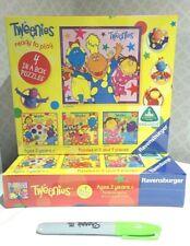 BNIB ELC 4x Cbeebies TWEENIES jigsaw puzzles Ravensburger pre-sch NEW & SEALED