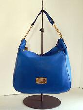 MICHAEL KORS Leather Large Slouchy Megan Top Zip Shoulder Bag  NWT $328 +Tax