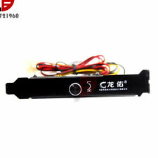 3 Channels PC Cooler Cooling Fan Speed Controller for CPU Case HDD DDR VGA 12V
