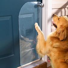 The Door Shield Pet Scratch Protector Dog Puppy Cat Screen Furniture Clear Guard