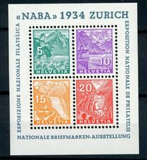[20645] Switzerland 1934 : Good Very Fine MNH Sheet - $1000