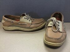 Men's Sperry Top Sider Billfish Tan/Beige Boat Casual Shoes Size 8 M #0799023