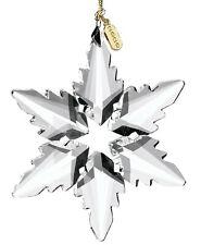 "Lenox 2020 Optic Snowflake Ornament 4.25"""