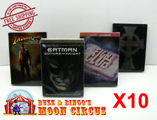 10x DVD STEELBOOK G1 - CLEAR PLASTIC PROTECTIVE BOX PROTECTOR SLEEVE CASE