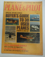 Plane & Pilot Magazine Buyer's Guide X-Wind Landing May 1972 052015R