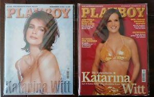 Playboy Katharina Witt Heft 12/1998 und 12/2001