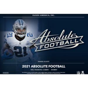 Justin Herbert 2021 ABSOLUTE FOOTBALL 24 BOX 2 FULL CASE PLAYER BREAK