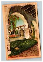 Vintage Mid Century Postcard Mission San Juan Capistrano California UNPOSTED
