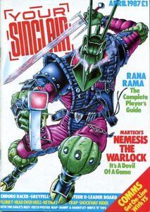 D208891 Your Sinclair Vintage Computer Magazine April 1987 Issue No. 16