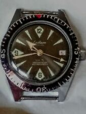 Vtg Eastman Special Automatic Wateroroof Skindiver Working Swiss Made