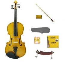 NEW 1/16 SIZE GOLD VIOLIN,GOLD BOW,CASE~REPLACEMENT STUDENT BEGINNER STARTER