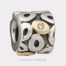 Pandora Sterling Silber & 14k gold mit CZ Oh My! Perlen 790431CZ * Special!!!