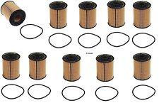 10-Pieces oem Mahle Oil Filter Audi Porsche Cayenne V6 & Volkswagen V6 W8 W12