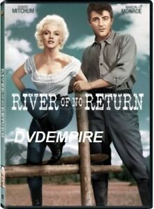 River Of No Return DVD Marilyn Munroe New and Sealed Australian Release