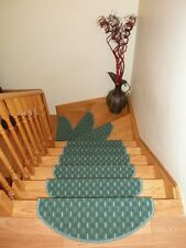 Set of 15 High Quality Carpet Stair Mats Stair Treads - made in Europe