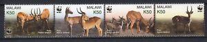 Malawi 2003 WWF Fauna Animals 4 MNH stamps