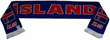 Iceland Island Football Scarf