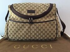 Authentic GUCCI GG Diaper Bag..MINT...No Wear..