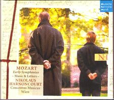 Nikolaus HARNONCOURT: MOZART Early Symphonies 3CD Music & Letters Sinfonien DHM