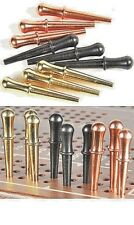 "9 Metal Cribbage Pegs for 1/8""  holes - 3 Colors - Nice Feel-FREE SHIPPING  a"