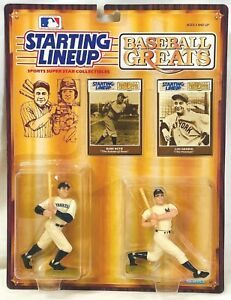 ⚾️ 1989 STARTING LINEUP SLU MLB - BABE RUTH / LOU GEHRIG - BASEBALL GREATS (W/W)
