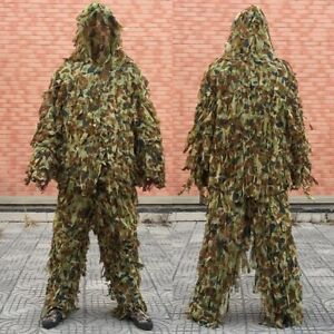 Sniper Special Force Ghillie Suit Yowie Screed Cloth Airsoft Paint Tactical Suit