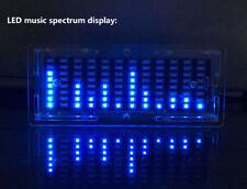 LED Music Spectrum Analyzer Amplifier MP3 PC Audio Level Indicator Meter Kits