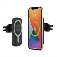 15W Magnetic Wireless Car Charger Mount Bracket For iPhone 12 12 Mini 12 Pro Max