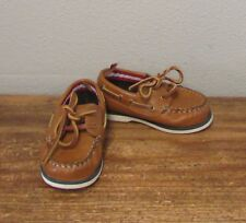 FADED GLORY Boys Brown Loafers - 6