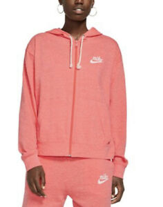 Nike Womens Small Women's Sportswear Gym Vintage Full-Zip Hoodie NWT