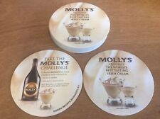 Mollys The Worlds Best Tasting Irish Cream Coasters - Coaster - 20 Pack F/Shipn.