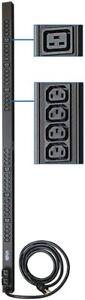 Tripp Lite Basic PDU, 30A, 38 Outlets (6 C19 & 32 C13), 208/240V, L6-30P, 10 ft.