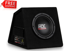"MTX RTP8A 8"" 120-Watt RMS Amplified Vented Subwoofer Enclosure FREE SHIPPING"