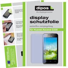 1x huawei ascend g330 lámina protectora mate protector de pantalla antireflex
