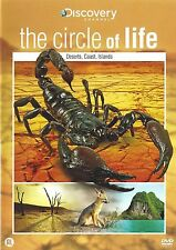 The Circle Of Life - Desert, Coast, Island (Discovery Channel) New dvd iseal