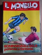 IL MONELLO n°47 1972 Boninsegna Cristall + inserto di Carlo Mauri + figur [G391]