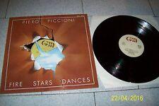 PIERO PICCIONI FIRE STARS DANCES  LP / GENERAL MUSIC GML 10013/1979 ITALY