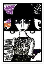 "Spanish movie Poster 4 French film""VIUDA de Oro/Widow of Gold""Dangerous Brunette"