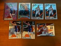 Ricky Rubio 7 Card Lot Pink Mosaic, Silver Prizm, Give and Go, Optic, Mosaic