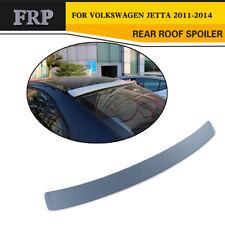 Rear Roof Spoiler Trunk Wing Lip Fit for VW Jetta 6 MK6 2011-2014 Unpainted FRP