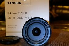 Tamron 24mm f/2.8 Di III OSD M 1:2 Wide Angle Lens For Sony E-mount