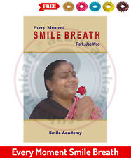 Every Moment Smile Breath Book by Prof. Park Jae Woo + Free 5 Sujok Rings