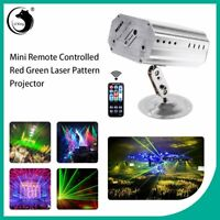 128 Patterns Projector LED RGB Laser Stage Light DJ Disco KTV Show Party Lighti
