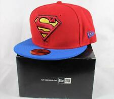 New Era Superman Official DC Comics Superhero 59fifty fitted Cap with box