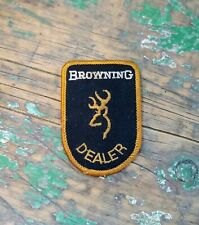 Vintage Browning Gun Dealer Advertising Patch! Nice!