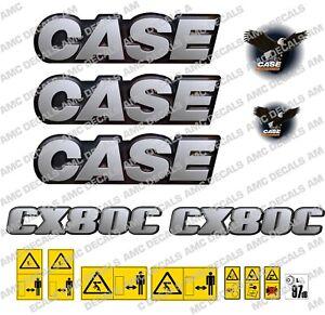 CASE CX80C DIGGER DECAL STICKER SET
